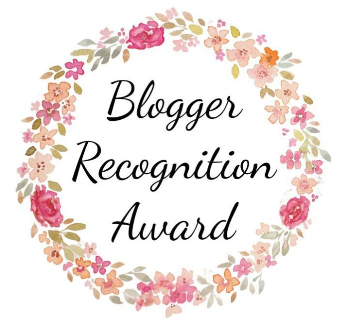 I've Been Nominated for the Blogger Recognition Award!