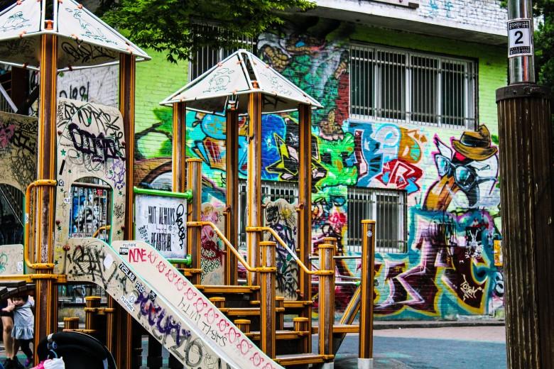 Graffiti Park in Hongdae