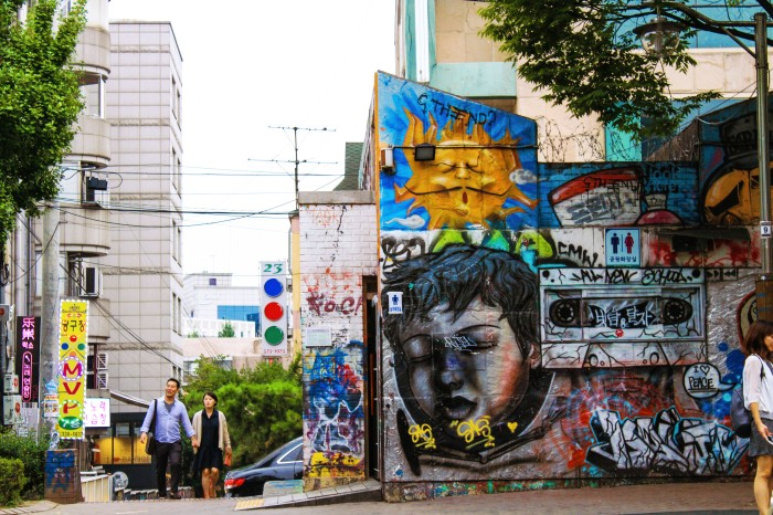 Hongdae Graffiti